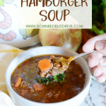 Grandma's Hamburger Soup