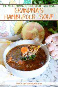 Grandma's hamburger soup