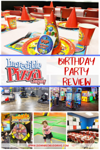 Incredible Pizza Birthday Party Review