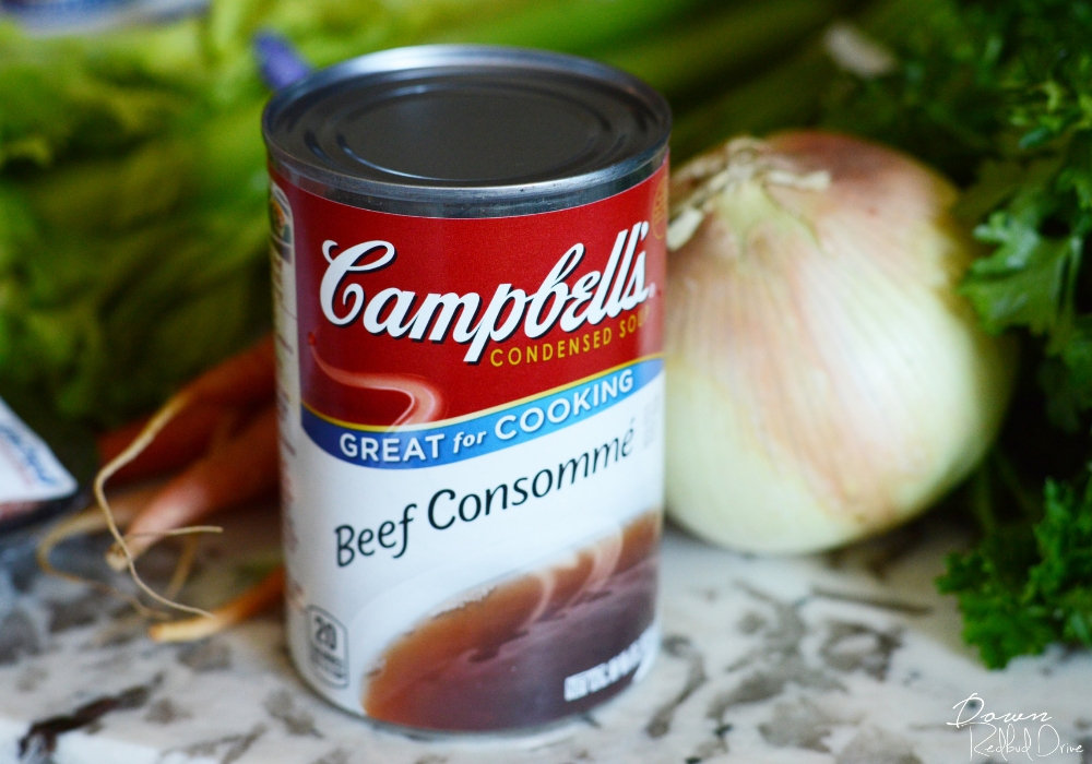 cambell's beef consomme soup