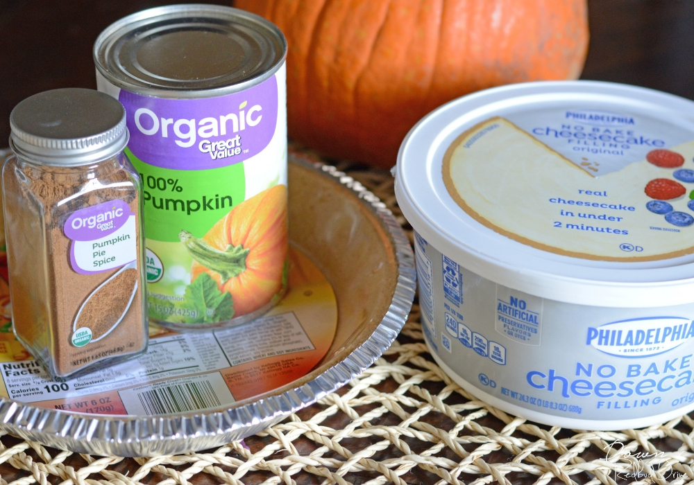 no bake pumpkin cheesecake ingredients