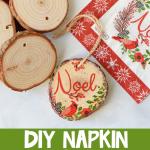 How to Make a Napkin Ornament