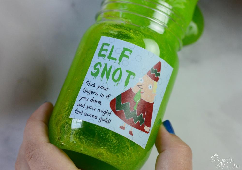 elf snot sticker