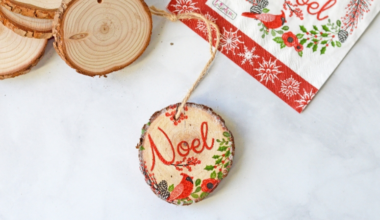 How to Make a Napkin Ornament