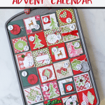 muffin tin advent calendar pinterest