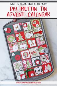 muffin tin advent calendar pinterest