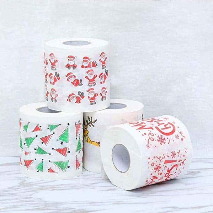 Christmas Toilet Paper Pack