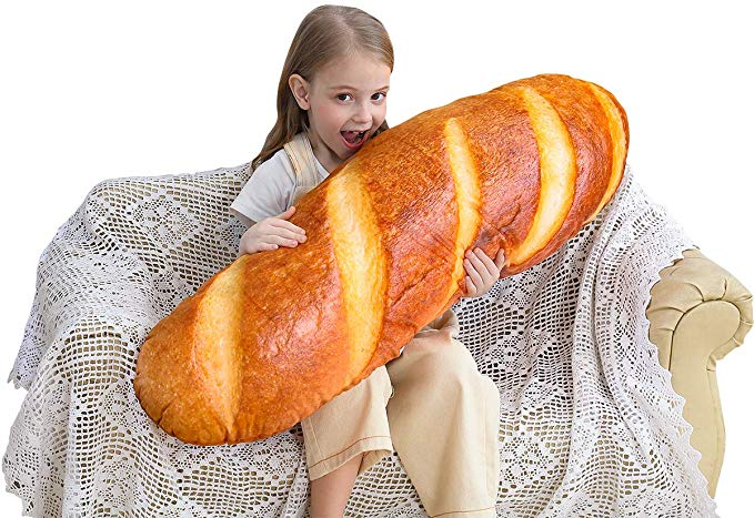 """40"""" Bread Shaped Pillow"""