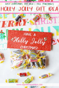 holly jolly christmas gift idea