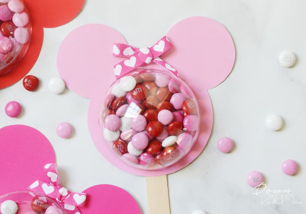 minnie valentine pop diy