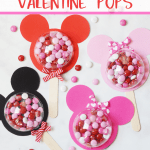 Mickey and Minnie Valentine Pops