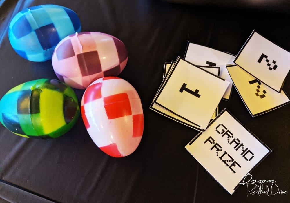minecraft egg hunt game