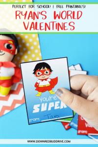 ryan's world valentines