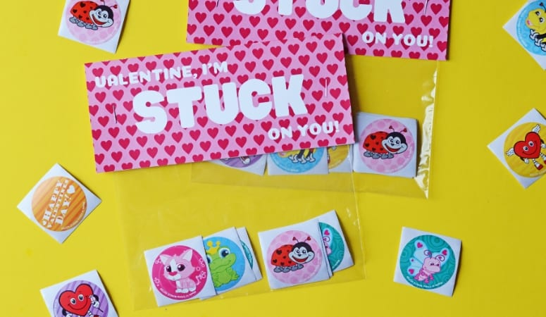 Stickers Valentines