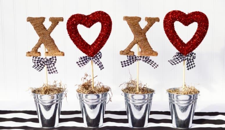 Valentine Topiary DIY