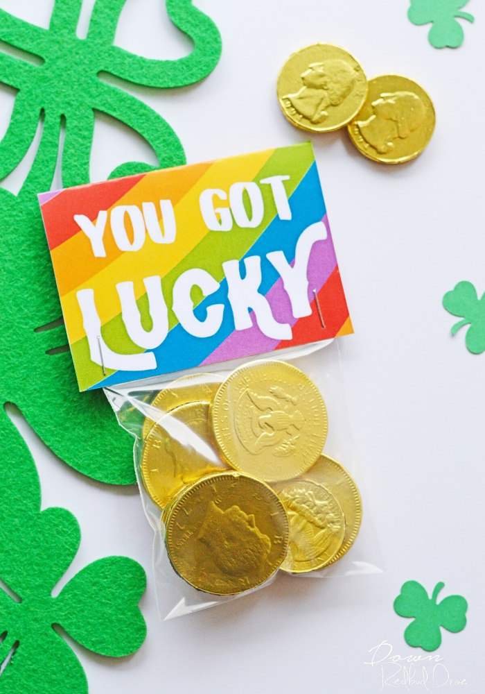 You Got Lucky treat