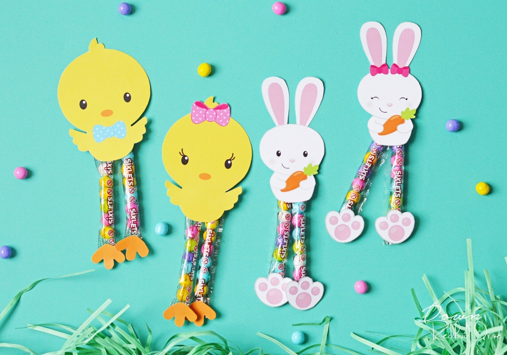 sixlet bunnies and chicks