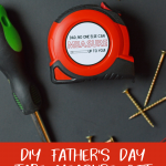 diy father's day tape measure gift