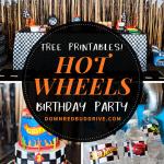 hot wheels birthday party