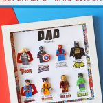 Father's Day Superhero Shadowbox