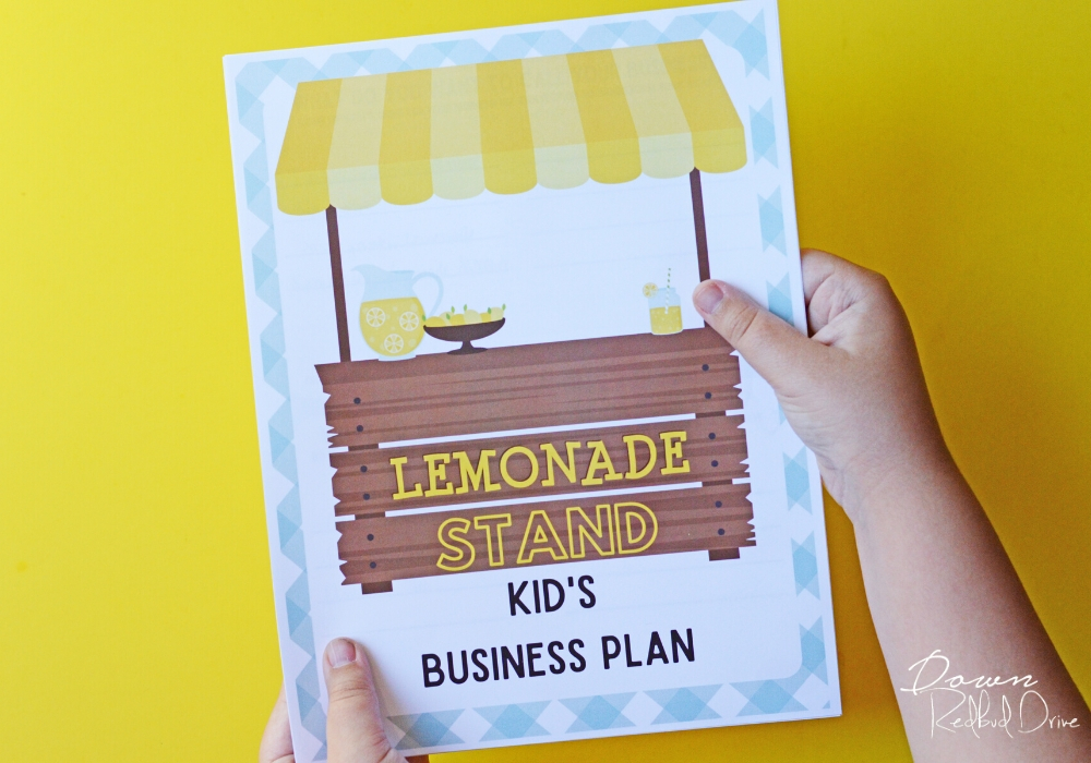 Kid's Lemonade Stand Business Plan