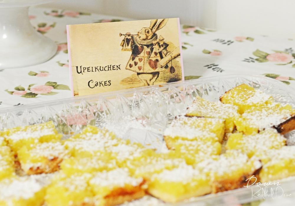 Upelkuchen tea cakes