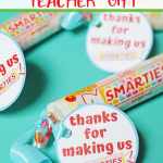 Smarties Teacher Gift