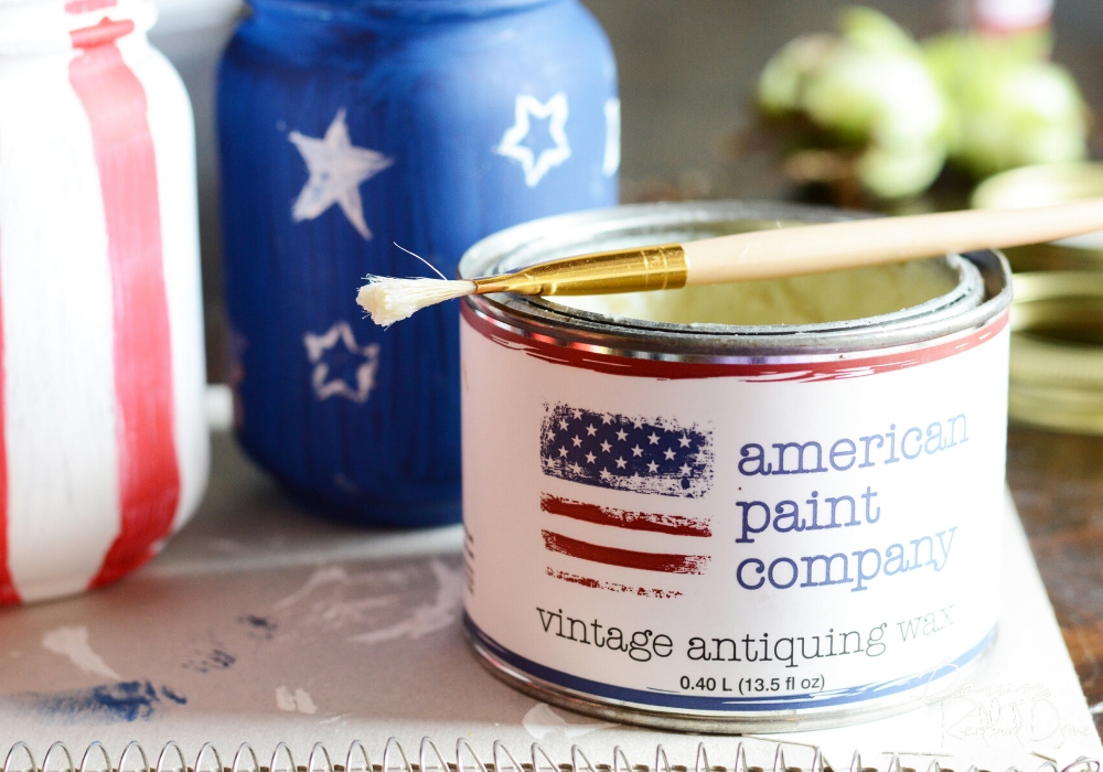 American Paint Company Vintage Antiquing Wax.