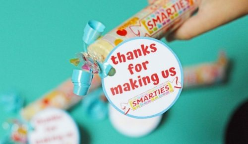 Smarties Teacher Gift Featured Image
