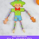 DIY Sixlets Scarecrows