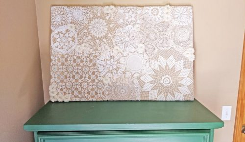 Doily Wall Art DIY