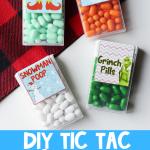 DIY Christmas Tic Tac Gift