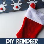 Reindeer Stocking Holder DIY