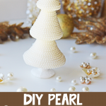 Pearl Christmas Tree DIY