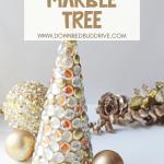Glass Gem Christmas Tree DIY