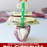 Money Christmas Tree Gift DIY