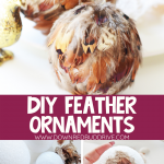 Feather Ornament DIY