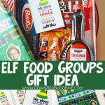 DIY Elf Food Groups Gift Idea