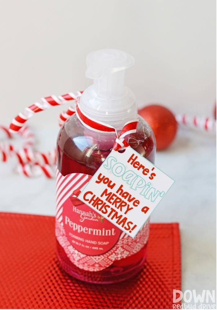 Christmas Hand Soap Gift DIY main tall image.