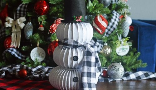 DIY Dryer Vent Snowman featured image.