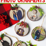 DIY Wood Photo Ornament
