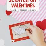 DIY Scratch Off Valentines