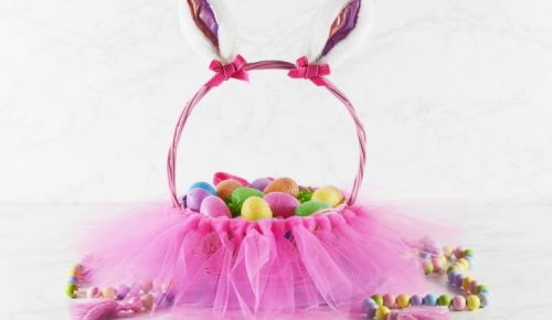 DIY Tutu Easter Basket featured image
