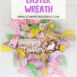 DIY Easter Mesh Wreath
