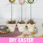 DIY Easter Egg Topiary