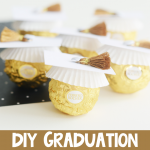 DIY Ferrero Rocher Graduation Treats