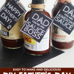 DIY Father's Day BBQ Sauce Gift