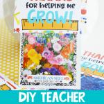DIY Teacher Seeds Gift
