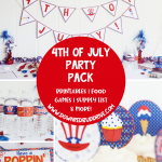 DIY 4th of July Party Decorations & Ideas