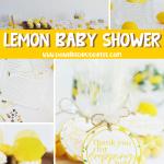 DIY Lemon Baby Shower